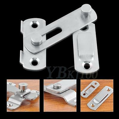 Stainless Steel Door Bolt Latch Slide Catch Lock Home Safety Gate Box Durable