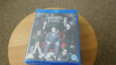 The Addams Family (Blu-ray, 2013) NEW AND SEALED