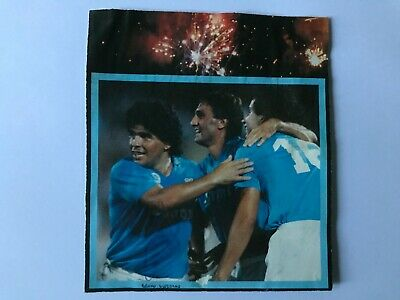 Autografo originale BRUNO GIORDANO-SSC Napoli 87/88-Naz.ITALIA-Ascoli-IN PERSON