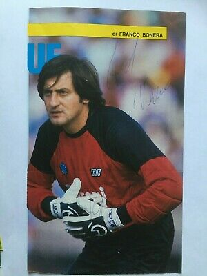 Autografo originale CLAUDIO GARELLA-SSC Napoli 87/88-Ex-Lazio/Hellas-IN PERSON!