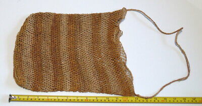 Vintage Aboriginal hand woven dilly bag