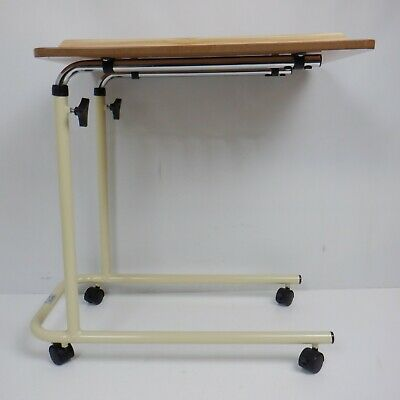 Days Overbed Table with Castors, Adjustable Height and Angle **SLIGHT DAMAGE**