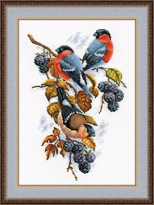 "/""A twig of the plum/"" Cross Stitch Kit OVEN 973"