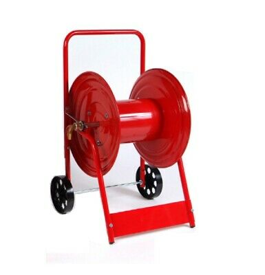 Low Pressure Hose Reel Trolley 50/100m Powder Coated
