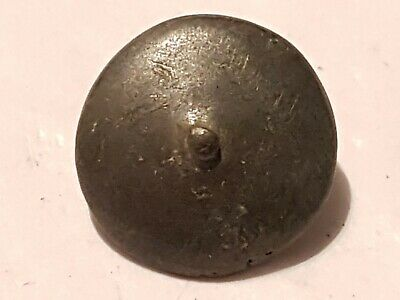 Stunning silver 3.95g Medieval VR. intact button. Please read description. L7c