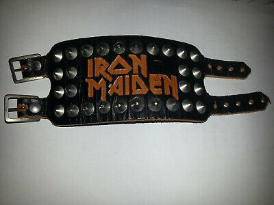Iron Maiden Vintage 1981 Killers Wristband Fan Club