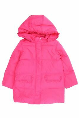 ORIGINAL MARINES Winter-Jacke mit Kapuze 6-7 = 122 pink Kinderjacke Steppweste