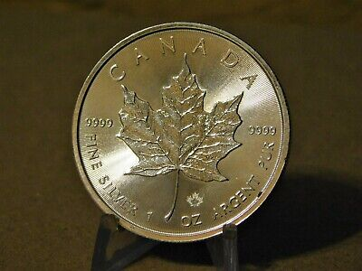 2016 5$ Silver Canadian Maple Leaf .9999 Fine Deep Cameo Proof Like Coin