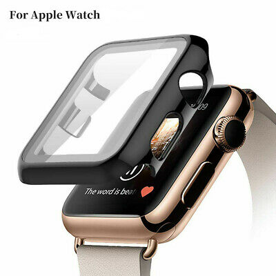 Armor Heavy Duty Tough Strap Case Cover for iWatch for Apple Watch Series 4321