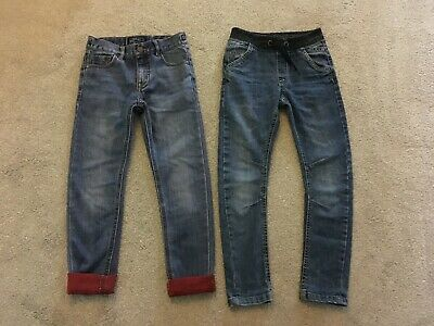 2 x pairs of Jeans - Age 7 (TU & NEXT) excellent condition