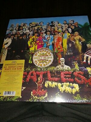 Beatles sgt peppers lonely hearts club band 50th Anniversary vinyl