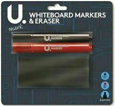 Red And Black Bullet Point White Board Marker Pens With Easter