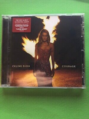 "Celine Dion cd album 2019 ""Courage"" brand new sealed"