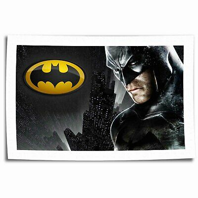 "16""x26""Movies arkham Paintings HD Canvas prints Home Decor photo Room Wall Art"