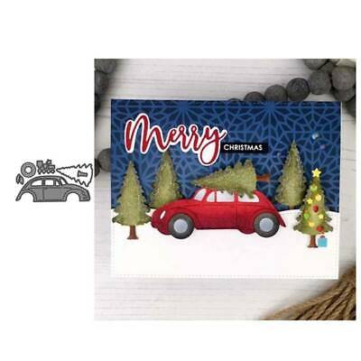 Log Truck Metal Cutting Dies Decoration Embossing Punch Craft Paper Craft Zxy