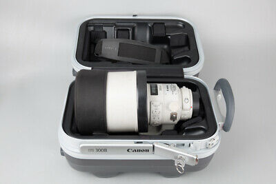 Canon EF 300mm f/2.8 f2.8 L IS II USM Telephoto Lens, For Canon EF Mount