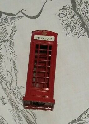 Taille crayon cabine téléphonique england GB Angleterre phone