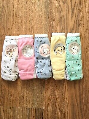 💕Disney GIRLS 5 PACK KNICKERS Simba,101 Bambi , etc. Agr  2-3 YEARS 💕