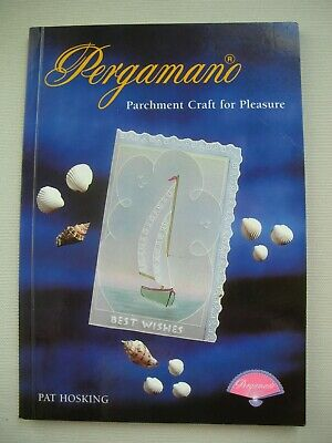 Pergamano Parchment Craft for Pleasure - Pat Hosking - Pergamano Pattern Book