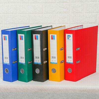 Durable Color Loose-leaf Binder Office Folder Document Clips File Folders