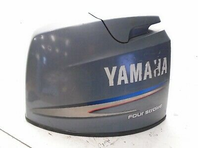 Yamaha 4-Stroke F80 Outboard Motor Top Cowling Engine Cover Fits Various Motors