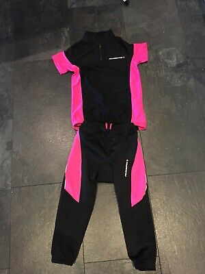 New Muddy Fox Cycling Trousers / Shorts and T Shirt Girls Age 9 To 10 Christmas