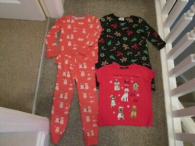 Assorted Girls Christmas Clothes Age 4/5-5/6 (Next & George)