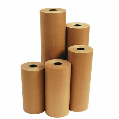 BROWN KRAFT PARCEL PAPER for Packing and Wrapping Parcels Strong 100 M