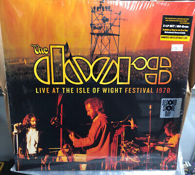 """DOORS """"Live at the Isle of Wight Festival 1970"""" 2lp RSD BLACK FRIDAY 2019"""