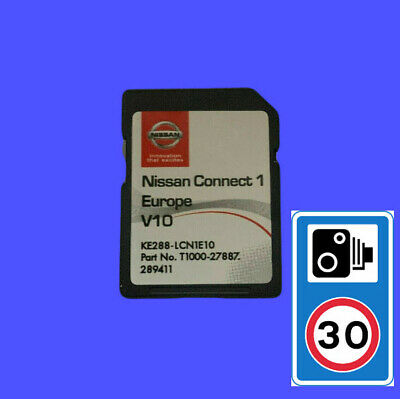 Nissan Connect 1 V9 Maps Latest Sat Nav Sd Card 2019 Qashqai Note Juke Micra