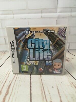 City Life DS, Nintendo DS, DSI, LITE, 3DS, 2DS,Video GAMES, Handheld gaming