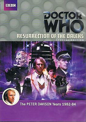 Doctor Who  Resurrection of the Daleks (2 DISC SPECIAL EDITION) disp 24hr Dr Who