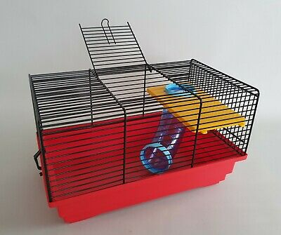 Hamster Transporter Cages  Animal Rodents Cage Animal Mouse Mice Gerbil Red