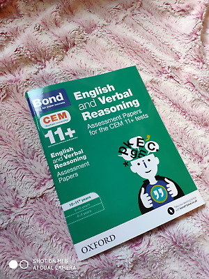 Bond 11+ CEM - English and Verbal Reasoning Assessment Papers - 10-11 years
