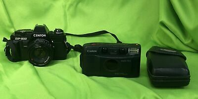 Two Cameras, Selling As Spares And Repairs Centon DF300 & Canon Sure Shot # 627