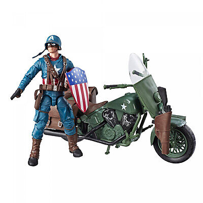 Marvel Legends Series 6-Inch-Scale Captain America Collectible Action Figure