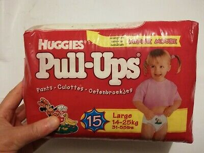 Full package - Pull-Ups Vintage Minnie Mouse diapers couches Huggies Mickey ABDL