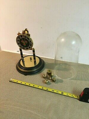 S Haller Simonswald mantle clock Germany 0 jewels for parts/repair