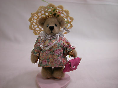 World Of Miniature Bears Dollhouse Miniature Plush Bear Scrap #856