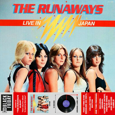 RUNAWAYS - LIVE IN JAPAN - RECORD STORE DAY BLACK FRIDAY 2019 - RSD Vinyl