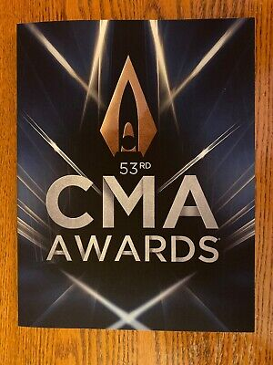 Official 2019 53rd Country Music Awards (CMA) Program