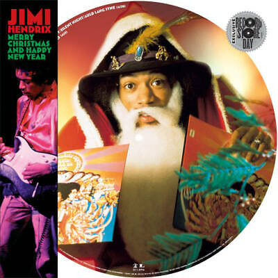 Jimi Hendrix - Merry Christmas & Happy New Year - Picture Disc - Rsd Bf 2019