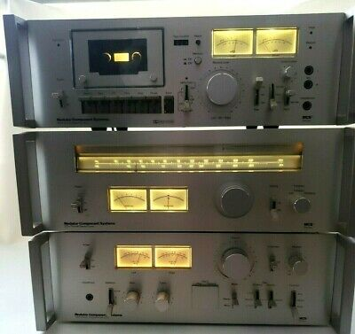 Vintage MCS Modular Component Systems 3701 Stereo Cassette Tape Deck Tested