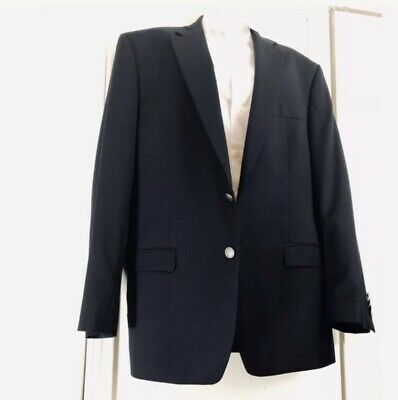 MICHAEL KORS Mens $350 NAVY BLUE SILVER BUTTON BLAZER JACKET SPORTCOAT 38S NEW