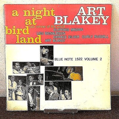 A Night at Birdland Vol 2 Art Blakey 1966 Vinyl Blue Note Records Liberty Mono