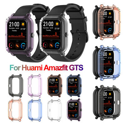 TPU Watch Case Bumper Cover Shell Protector for Xiaomi Huami Amazfit GTS Watch+
