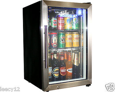 Brand New Schmick Bar Fridge - Glass Door Tropical Mini -72 Cans - Alfresco
