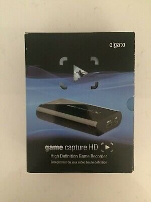 Elgato Game Capture HD - Recorder for PS3 PS4 XBOX 360 ONE - BOXED
