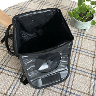 Auto Bin Trash Bag Waterproof  Garbage Car Seat Hanging Folding  Lin
