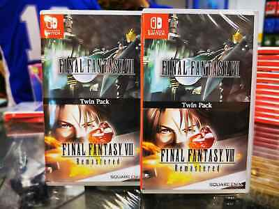 Switch Final Fantasy VII & VIII Remastered Twin Pack (Asian English) PHYSICAL